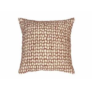Beżowa poduszka dekoracyjna ZicZac Mozaik, 45x45 cm