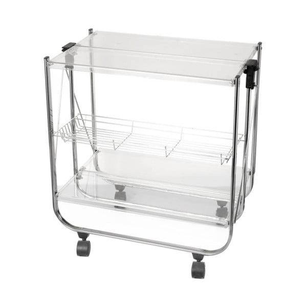 Stolik składany Brandani Chariot Pliable Transparent