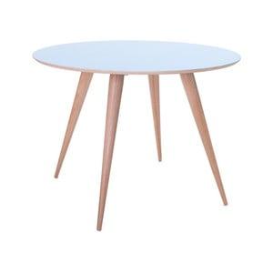 Niebieski stół do jadalni Ragaba Planet Round