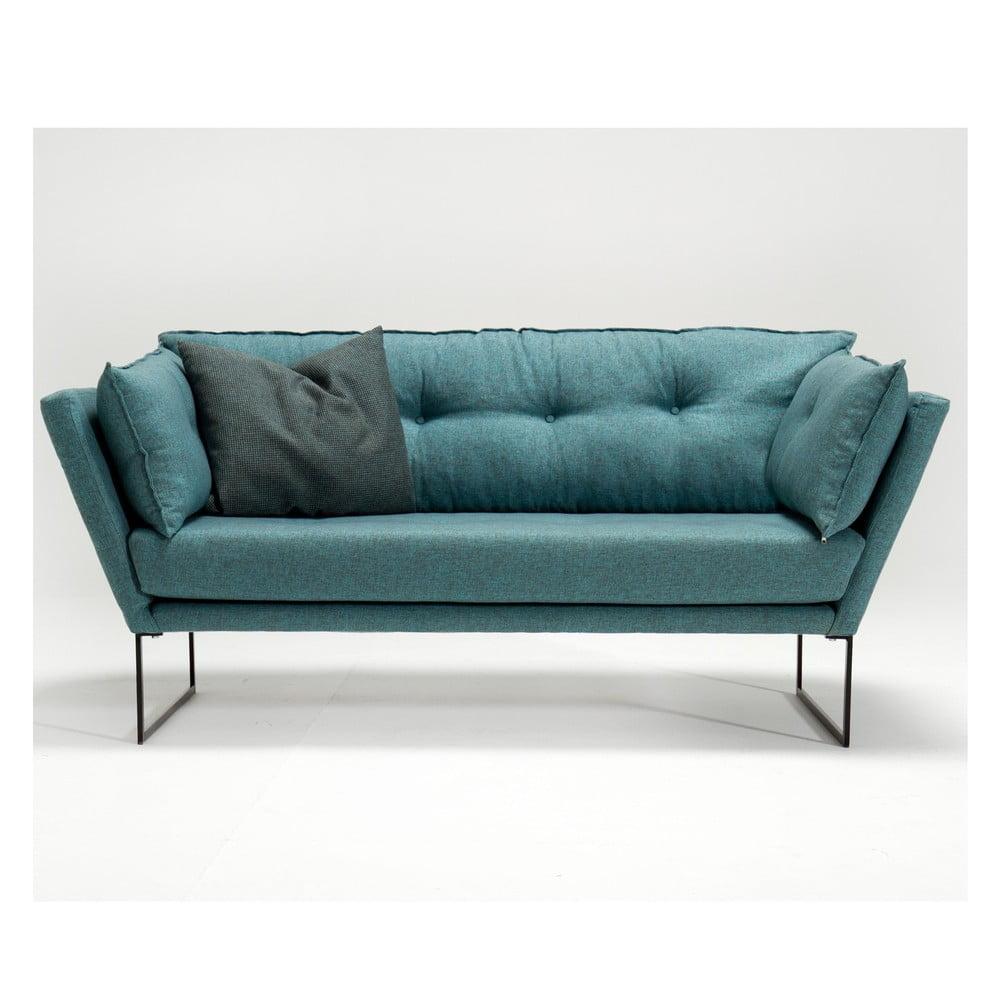 Zielononiebieska sofa Relax