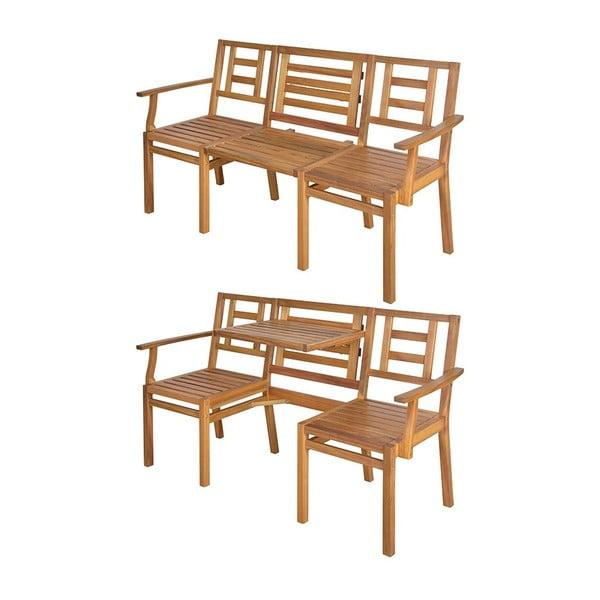 Składana drewniana ławka Chat