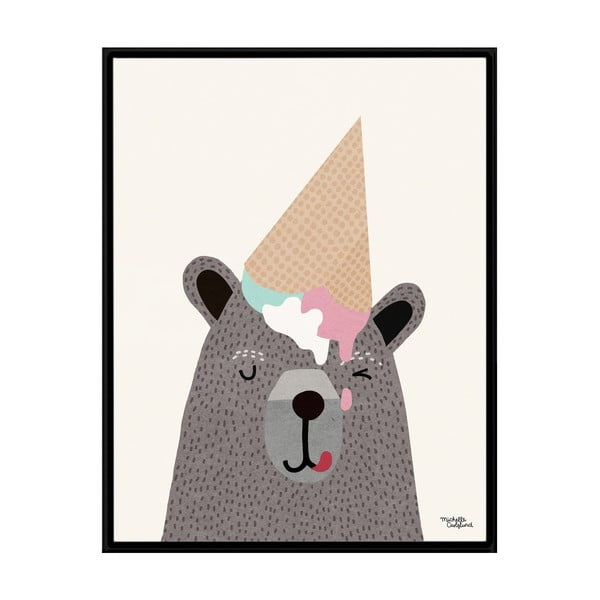 Plakat Michelle Carlslund I Love Ice Cream, 50x70 cm