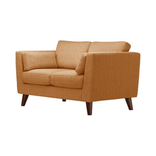 Pomarańczowa sofa dwuosobowa Jalouse Maison Elisa
