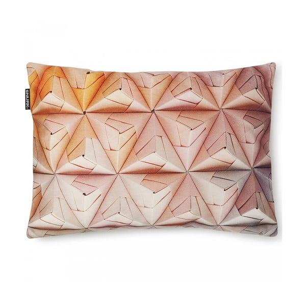 Poszewka na poduszkę Snurk Geogami Pink, 35x50 cm