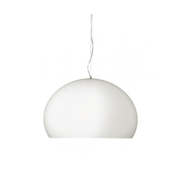 Mała biała lampa wisząca Kartell Fly