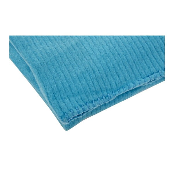 Pled Jaquar Bleu, 130x150 cm