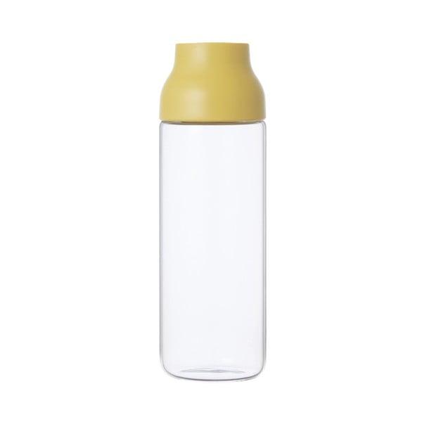 Żółta karafka Kinto Capsule, 1 l