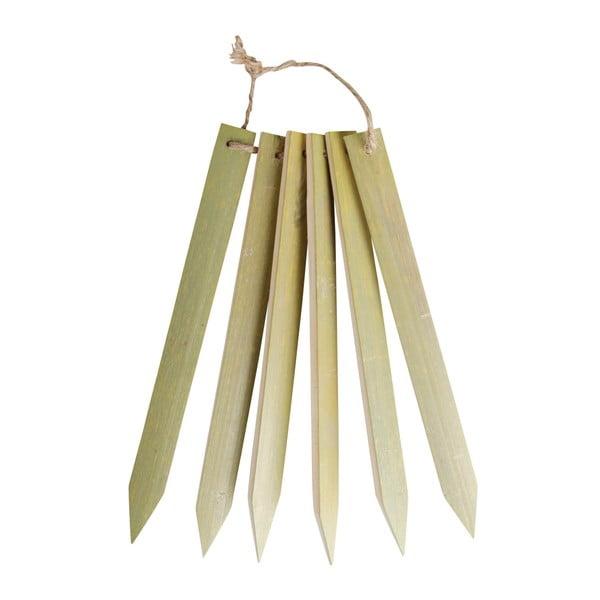 Etykiety bambusowe do oznaczania roślin Esschert Design Garden