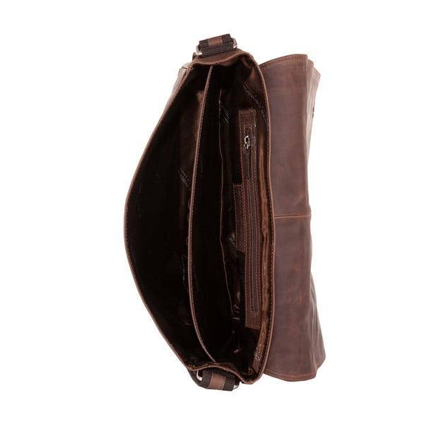 Męska torba listonoszka Vintage Brown