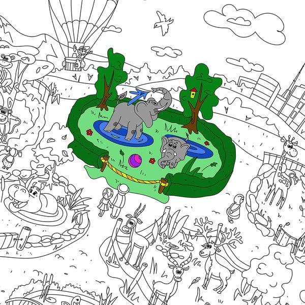 Kolorowanka Creative Gifts Zooland