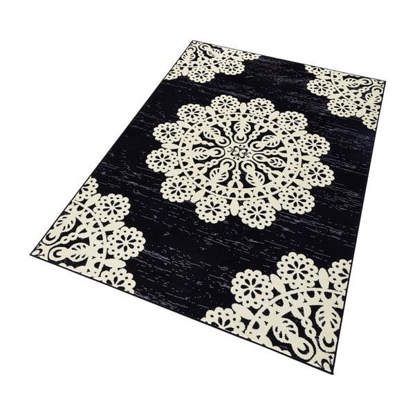 Czarny dywan Hanse Home Gloria Lace, 160 x 230 cm