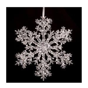 Dekoracja wisząca w kształcie śnieżynki Unimasa Snow, ⌀ 25 cm