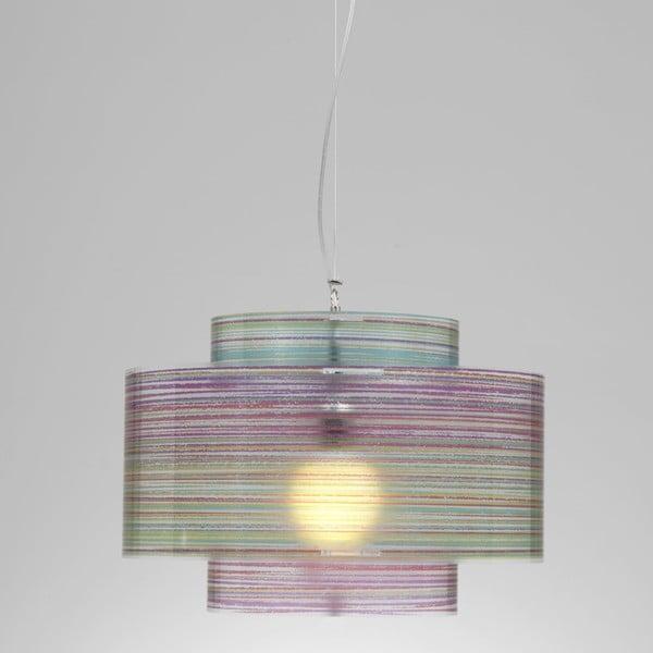 Lampa wisząca Trocadero Emporium, kolorowa