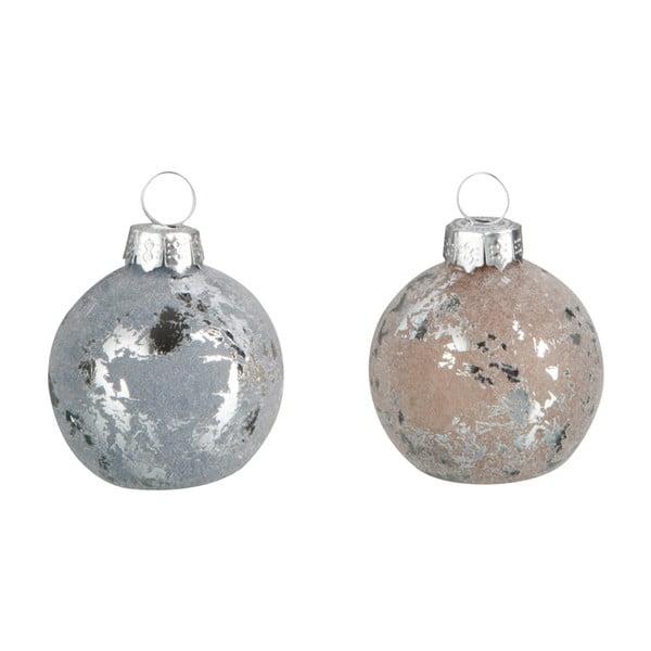 Zestaw   12 świątecznych ozdób Namel, Ø4 cm