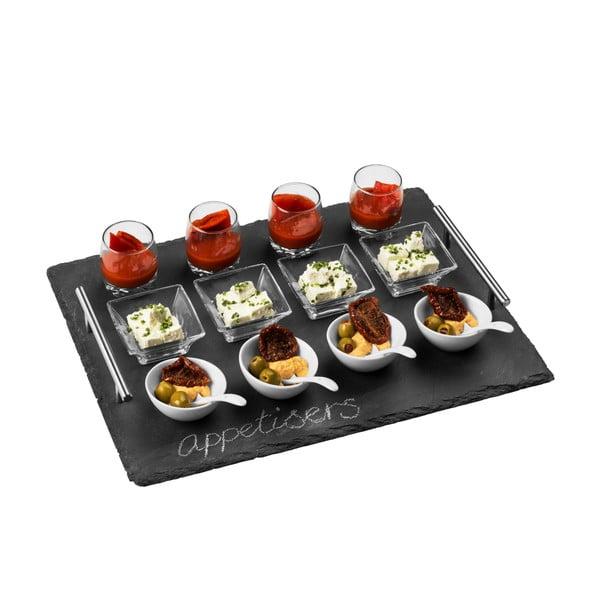 Komplet do serwowania 16-częściowy Premier Housewares Appetiser, 40x30 cm