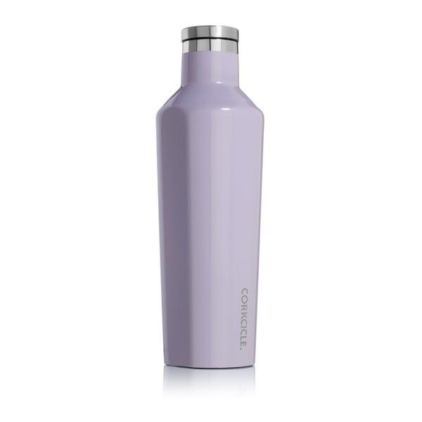 Fioletowa podróżna butelka termiczna Corkcicle Canteen, 470 ml