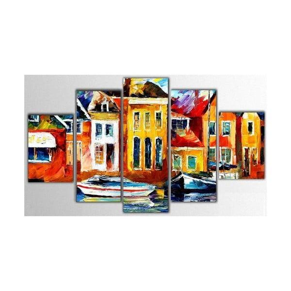 Pięcioczęściowy obraz Color Art, 100x60 cm