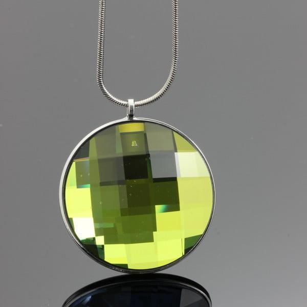 Naszyjnik Swarovski Mirror Green