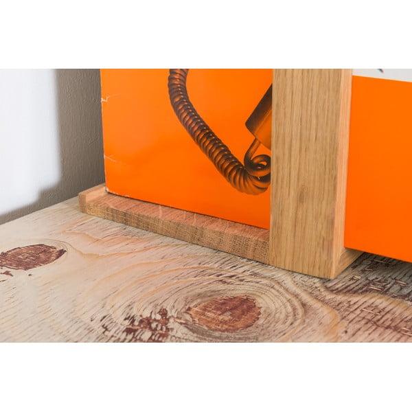 Stojak na płyty winylowe, 52x35 cm