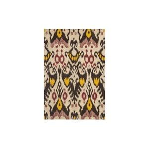 Dywan wełniany Maraca Ikat, 121x182 cm