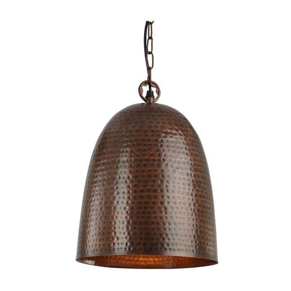 Lampa wisząca Brown Bell, brązowa