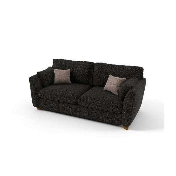 Dwuosobowa sofa Pandora, ciemnoszara