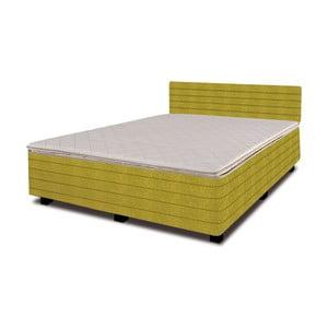 Łóżko z materacem New Star Lime, 140x200 cm