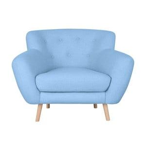 Jasnoniebieski fotel Kooko Home Pop