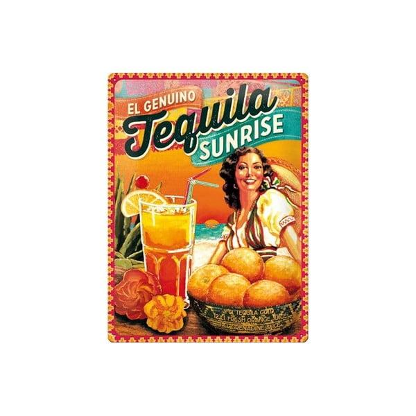 Blaszana tabliczka Tequila, 30x40 cm