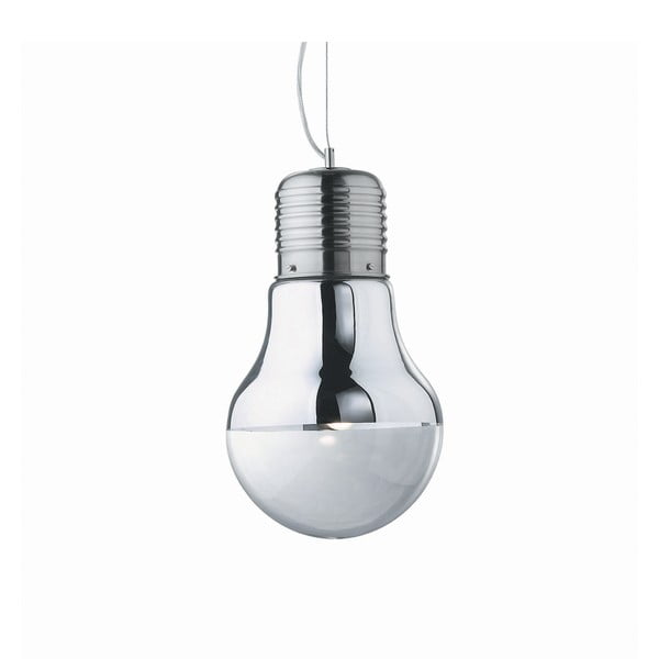Lampa wisząca Evergreen Lights Bulb Nickel