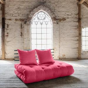 Sofa rozkładana Karup Shin Sano Black/Magenta