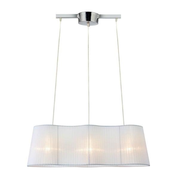 Biała lampa wisząca Markslöjd Vinsingso, 76 cm