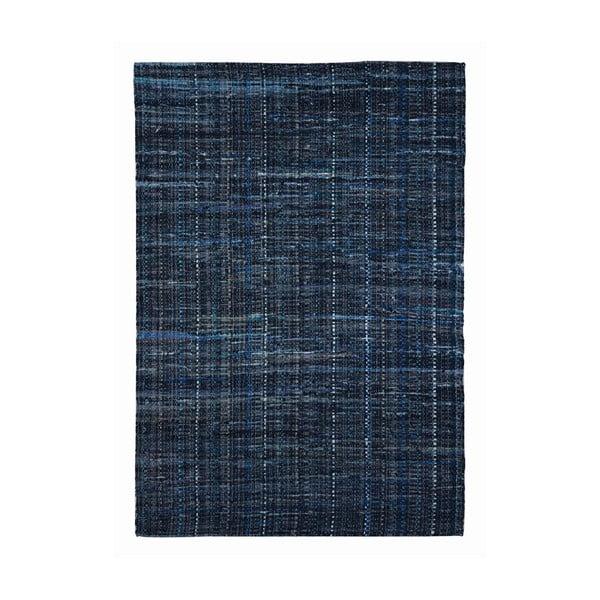Dywan z materiału pochodzącego z recyklingu Harris Blue, 160x230 cm