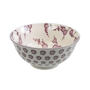 Porcelanowa miska Tayo Purple, 15,5x7 cm