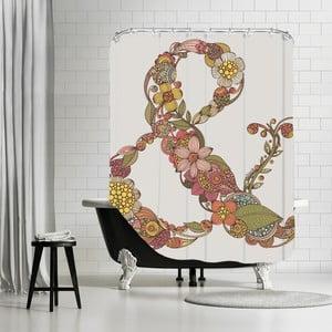 Zasłona prysznicowa Ampersand, 180x180 cm