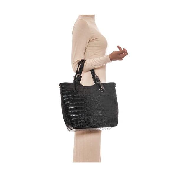 Skórzana torebka Renata Corsi 635 Noir