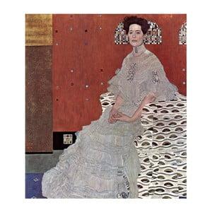 Reprodukcja obrazu Gustava Klimta - Fritza Riedler, 70x60 cm