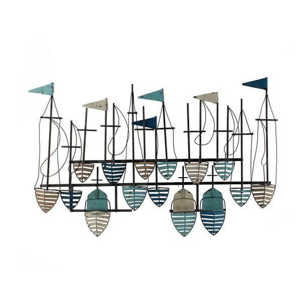 Dekoracja ścienna Płynące łodzie
