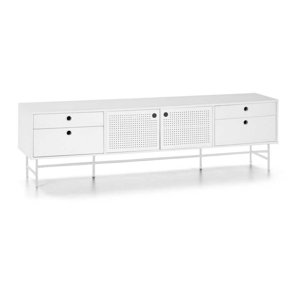 Biały stolik pod TV Teulat Punto