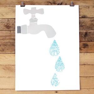 Plakat Creative Fuacet, 61x46 cm