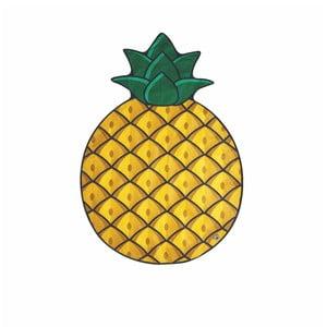 Koc plażowy w kształcie ananasa Big Mouth Inc.,172cmx122cm