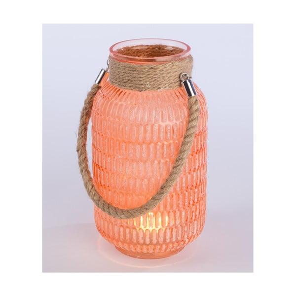 Lampion Meanra 27 cm, pomarańczowa