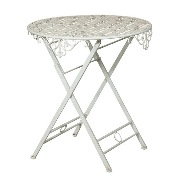 Żelazny stolik składany Crido Consulting Biscottini Vintage