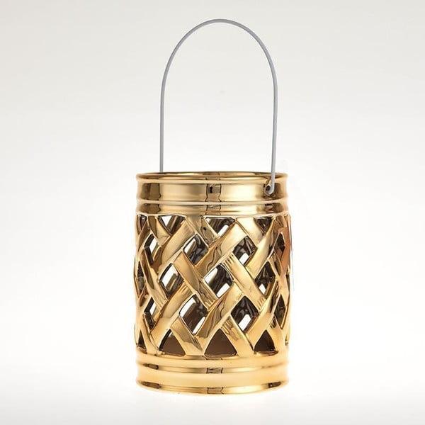 Ceramiczny lampion Gold Deco