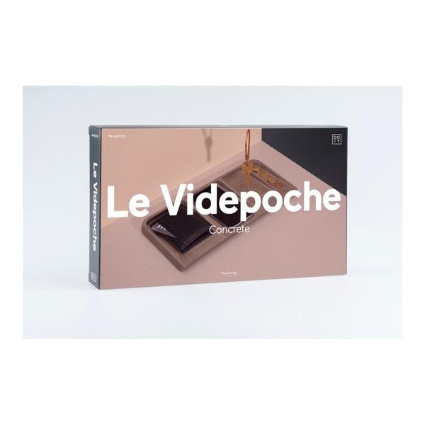 Organizer na drobiazgi DOIY La Videopoche Concrete