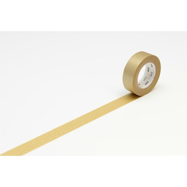 Taśma dekoracyjna washi Uni Gold