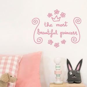 Naklejka dekoracyjna na ścianę Beautiful Princess