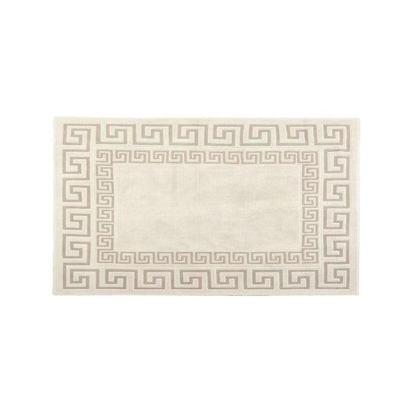 Dywan bawełniany Orient 80x300 cm, kremowy
