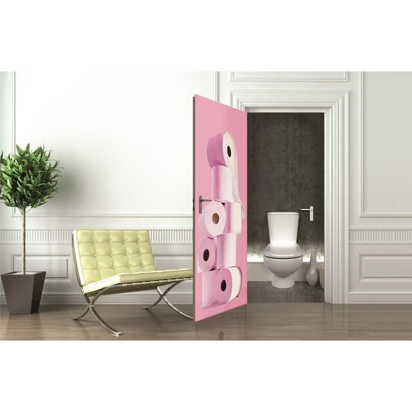 Tapeta na drzwi Toilet Paper, 95x210 cm