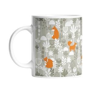 Kubek ceramiczny Fox Friends, 330 ml